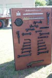 Tools display board.
