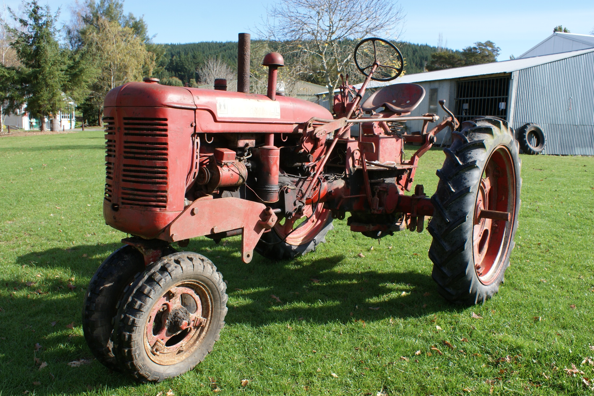 Farmall C International Harvester Collection of Stephen Caunter